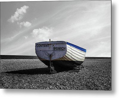 Fishing Boat Metal Print by Martin Newman
