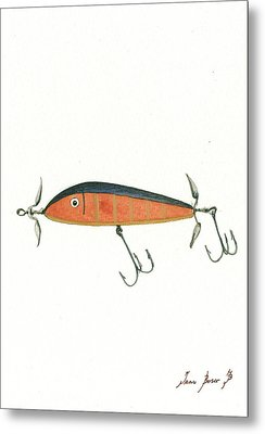 Fishing Lure  Metal Print