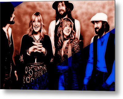 Fleetwood Mac Collection Metal Print by Marvin Blaine