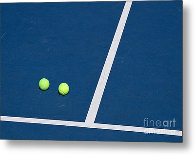 Florida Gold Coast Resort Tennis Club Metal Print by ELITE IMAGE photography By Chad McDermott