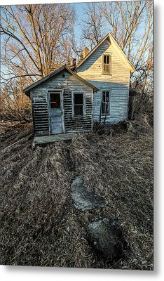 Metal Print featuring the photograph Forgotten by Aaron J Groen