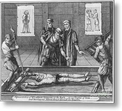 Foxe: Book Of Martyrs Metal Print