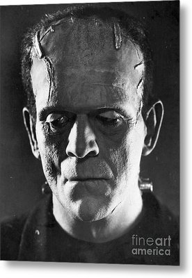 Frankenstein, 1931 Metal Print by Granger