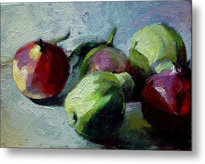 Fruits Metal Print by George Siaba