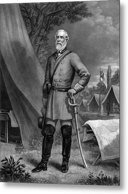 General Robert E Lee Metal Print by War Is Hell Store