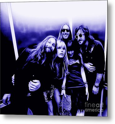 Grace Potter And The Nocturnals Collection Metal Print