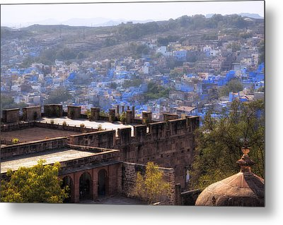 Jodhpur - India Metal Print by Joana Kruse