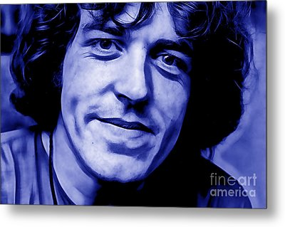 Joe Cocker Collection Metal Print by Marvin Blaine