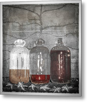 3 Jugs Metal Print by Marty Garland