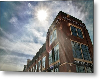 Lambeau Field Metal Print by Joel Witmeyer