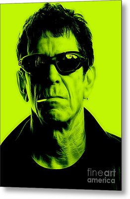 Lou Reed Collection Metal Print