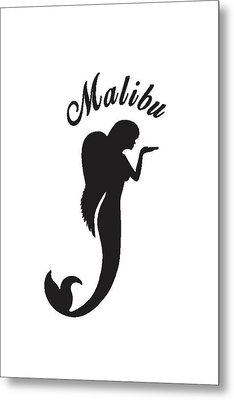 Malibu Mer Angels Metal Print