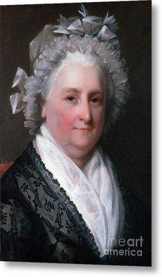 Martha Washington, American Patriot Metal Print by Photo Researchers