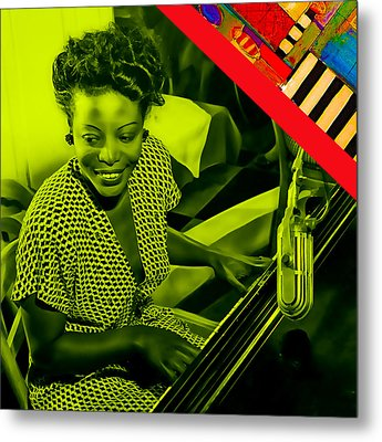 Mary Lou Williams Collection Metal Print