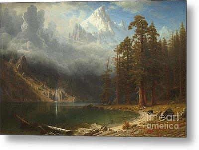 Mount Corcoran Metal Print by Albert Bierstadt