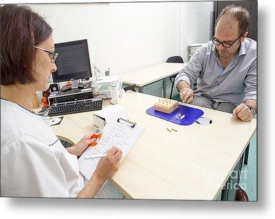 Multiple Sclerosis, Consultation Metal Print