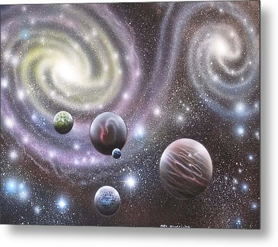 mULTIVERSE 223 Metal Print by Sam Del Russi