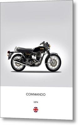 Norton Commando 1974 Metal Print