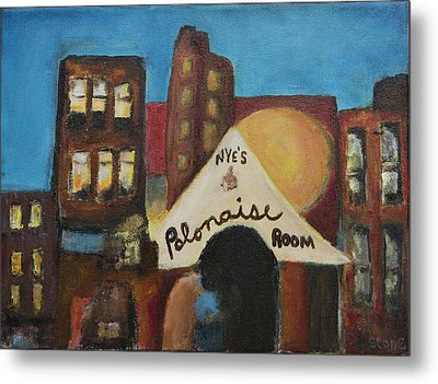 Metal Print featuring the painting Nye's Polonaise Room by Susan Stone