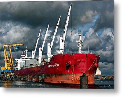Port Of Amsterdam Metal Print