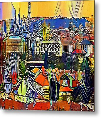 prague castle - My WWW vikinek-art.com Metal Print