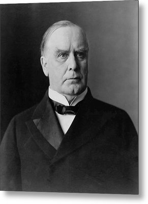 President William Mckinley Metal Print by War Is Hell Store