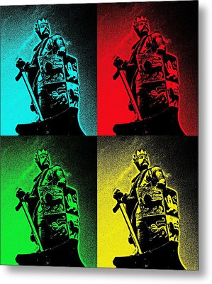Prince Of Wales Metal Print by Christopher Rowlands
