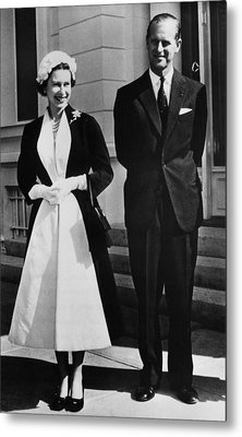 Queen Elizabeth II, The Queen Metal Print