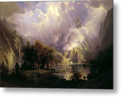 Rocky Mountain Landscape Metal Print