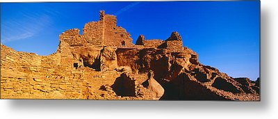 Ruins Of 900 Year Old Hopi Village Metal Print by Panoramic Images
