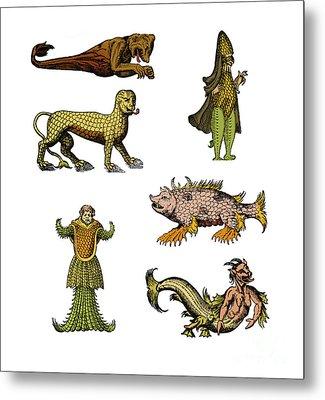 Sea Monsters Metal Print by Science Source