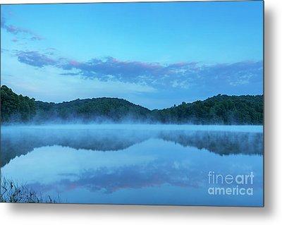 Spring Morning At The Lake Metal Print by Thomas R Fletcher