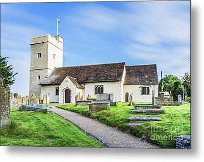 St Sannans Church Bedwellty Metal Print