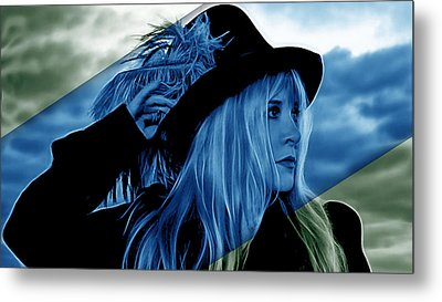 Stevie Nicks Collection Metal Print by Marvin Blaine