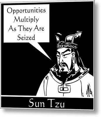 Sun Tzu Metal Print