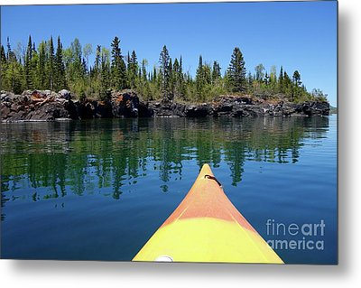 Superior Reflections Metal Print by Sandra Updyke
