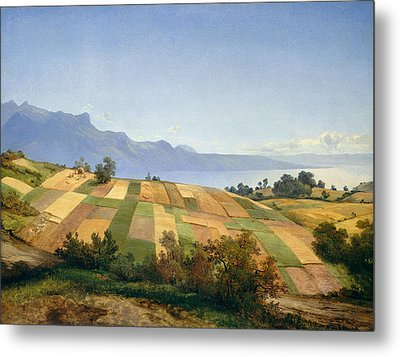 Swiss Landscape Metal Print