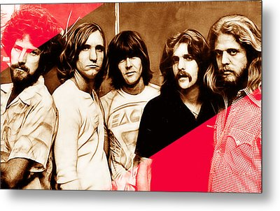 The Eagles Collection Metal Print by Marvin Blaine