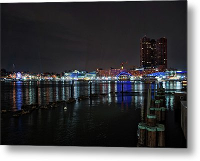 Metal Print featuring the photograph The Harbor View by Mark Dodd