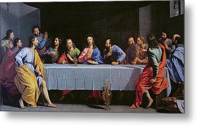 The Last Supper Metal Print by Philippe de Champaigne