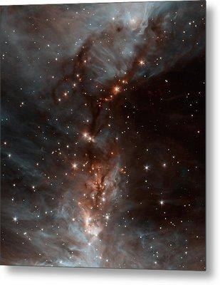 The Orion Nebula Metal Print by American School