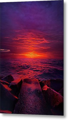 Metal Print featuring the photograph The Path by Phil Koch
