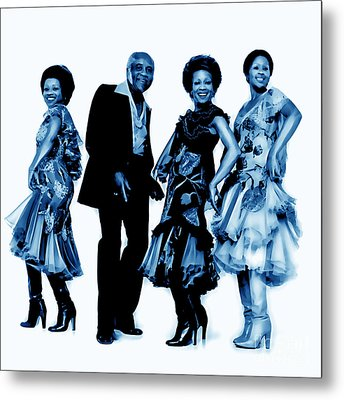 The Staple Singers Collection Metal Print by Marvin Blaine