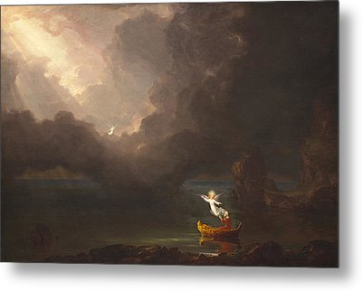 The Voyage Of Life Old Age Metal Print