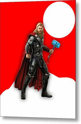 Thor Collection Metal Print