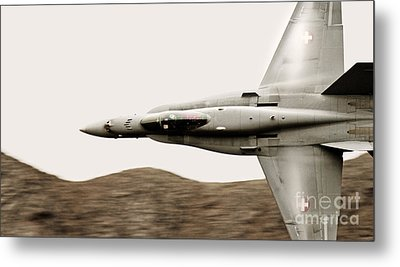 Thrust Metal Print