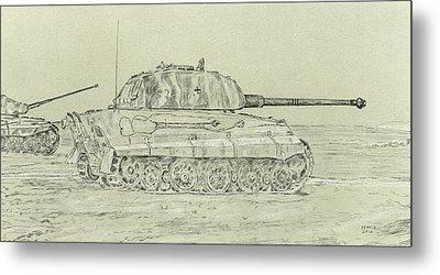 Tiger II Metal Print by Dennis Larson