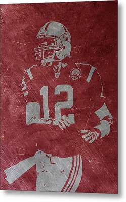 Tom Brady Patriots Metal Print by Joe Hamilton