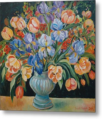 Tulips Metal Print by Alexandra Maria Ethlyn Cheshire