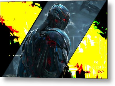 Ultron Collection Metal Print by Marvin Blaine